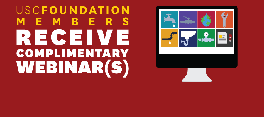 Foundation Members Receive At Least One Complimentary Webinar a Year*