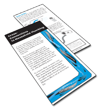 Cross-Connections in Household Plumbing Brochure
