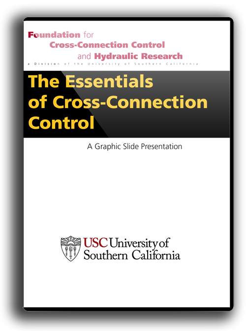 Essentials of Cross-Connection Control Slide Presentation