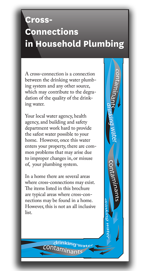 Cross Connection in Household Plumbing Brochure
